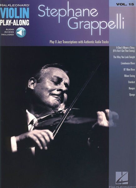 Hal Leonard Play-Along Stephane Grappelli