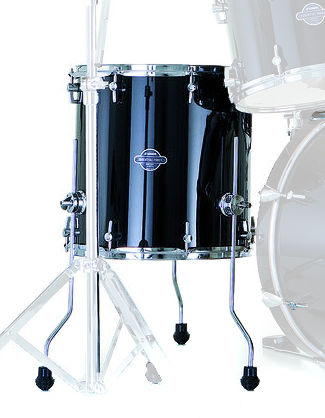 "Sonor 14""x14"" FT Essential Black"