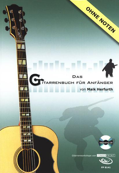 Fingerprint Das Gitarrenbuch f. Anfänger