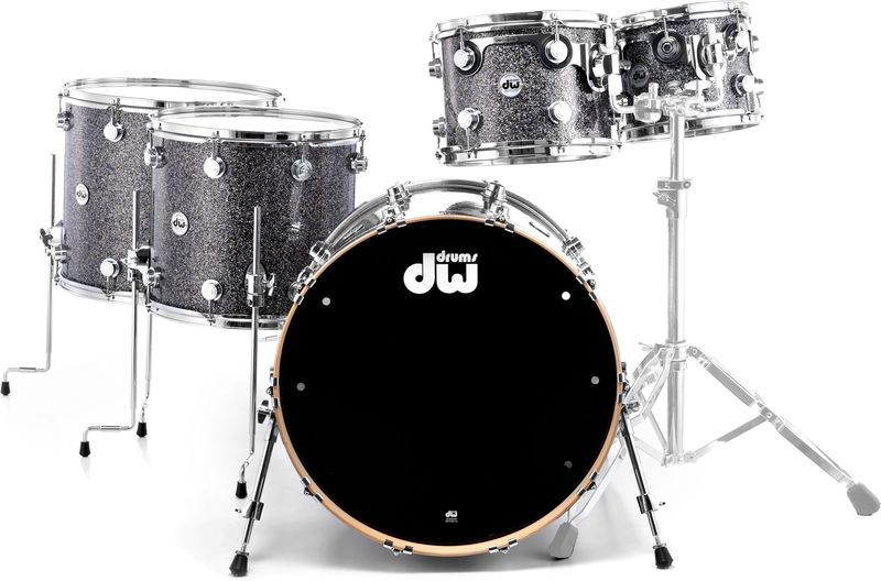 DW Finish Ply Black Galaxy MM