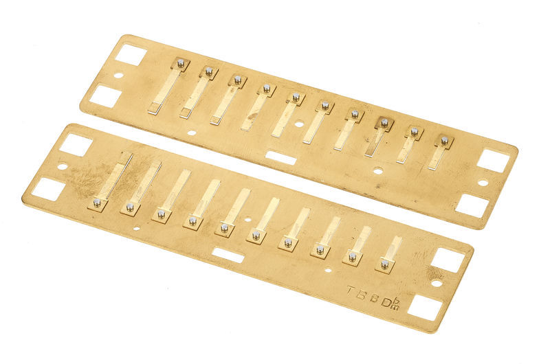 Lee Oskar Harmonic Minor Reedplates Db