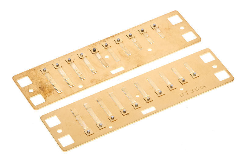 Lee Oskar Harmonic Minor Reedplates G