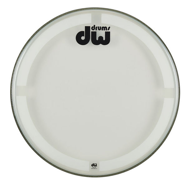 "DW 23"" Bass Drum Batter Head C/C"