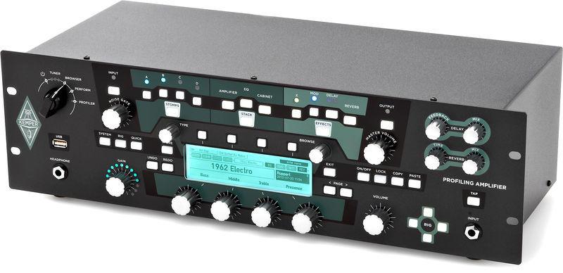 Kemper Profiling Amplifier Rack BK
