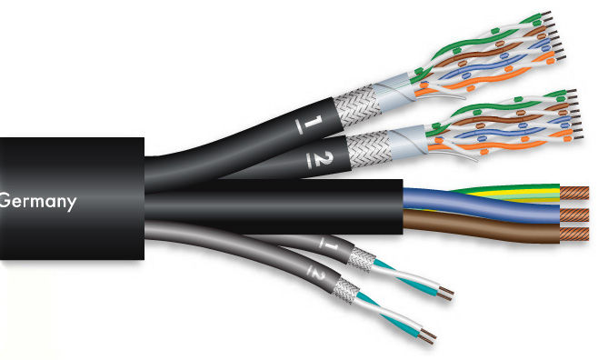 Sommer Cable Monocat Power 212 BK