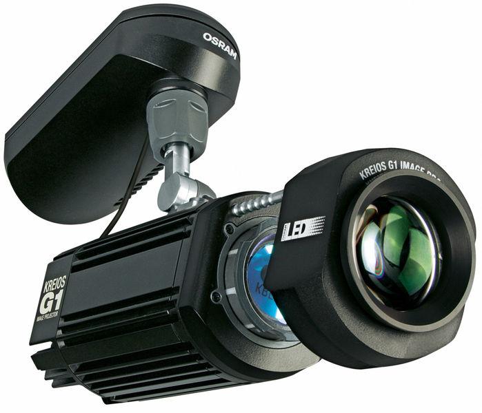 Osram Kreios G1 black Gobo Projector