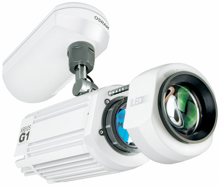 Osram Kreios G1 white Gobo Projector