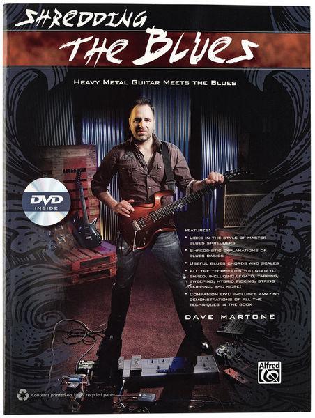 Shredding The Blues Alfred Music Publishing