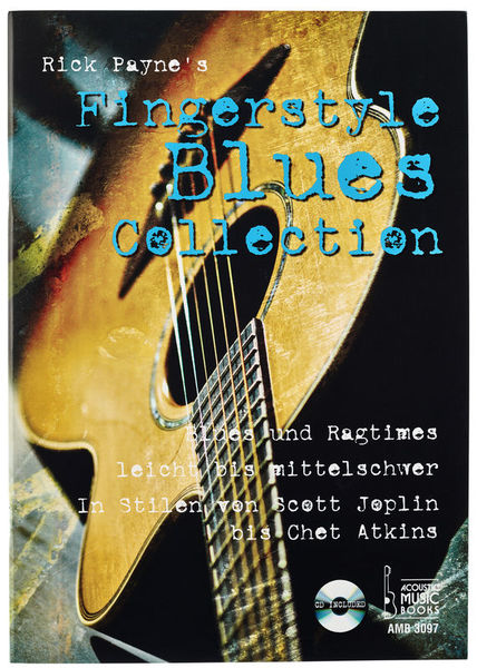 Fingerstyle Blues Collection Acoustic Music