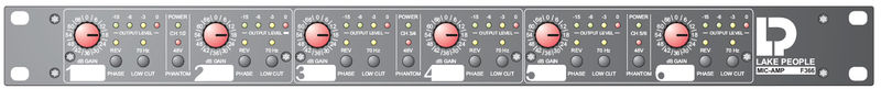 Lake People Mic-Amp F366T 6-Channel Preamp