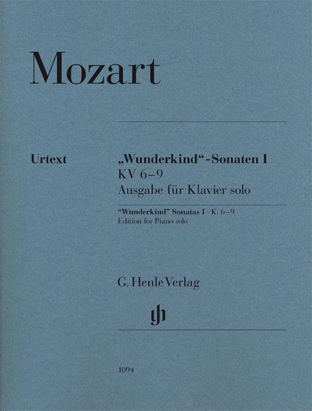 "Henle Verlag Mozart ""Wunderkind"" 1 Piano"