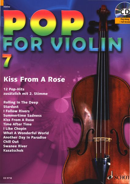 Schott Pop For Violin Vol.7