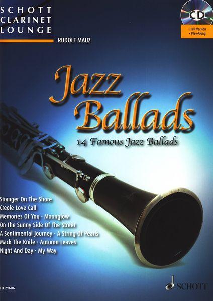 Jazz Ballads Clarinet Schott