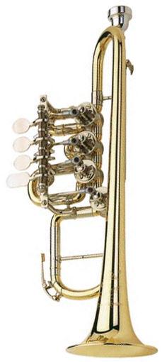 Johannes Scherzer 8113-L High G-Trumpet