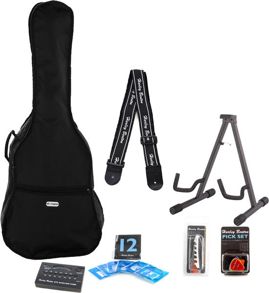 Harley Benton Accessory Acoustic Steel Pack