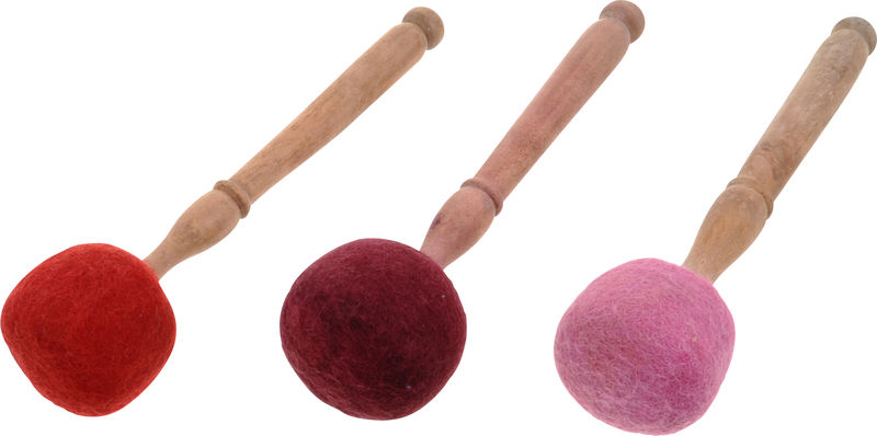 Thomann Red Felt Mallet S
