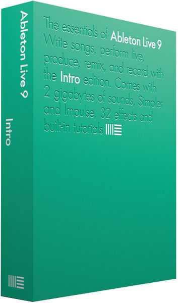 Ableton Live 9 Intro E