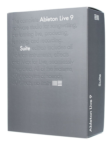 Ableton Live 9 Suite English