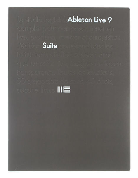 Ableton Live 9 Suite Upg. Live Intro F