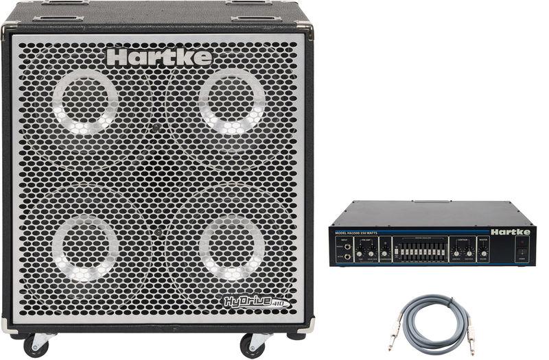 Hartke HX410 HyDrive Bundle 3
