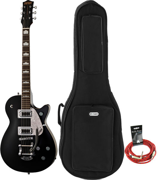 Gretsch G5435T Pro Jet Black Bundle