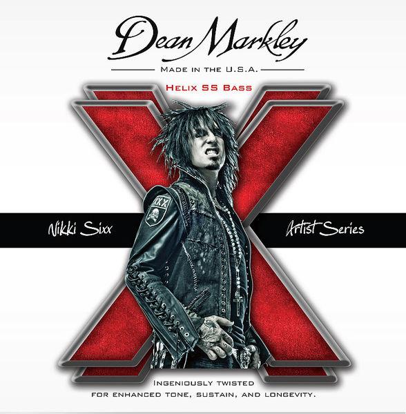 Dean Markley Helix HDSS Bass Nikki Sixx Sig