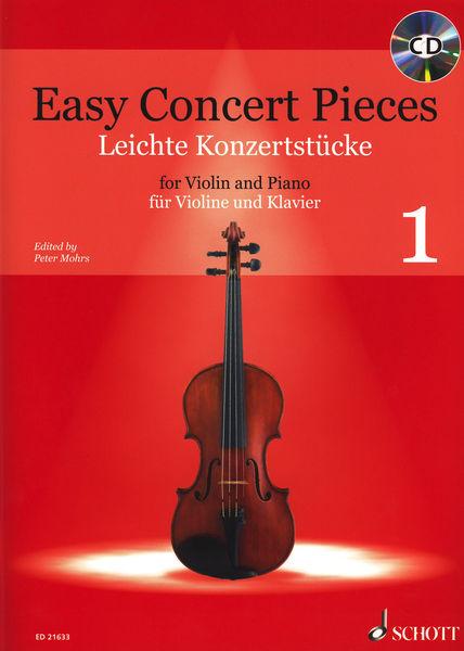 Easy Concert Pieces Violin 1 Schott