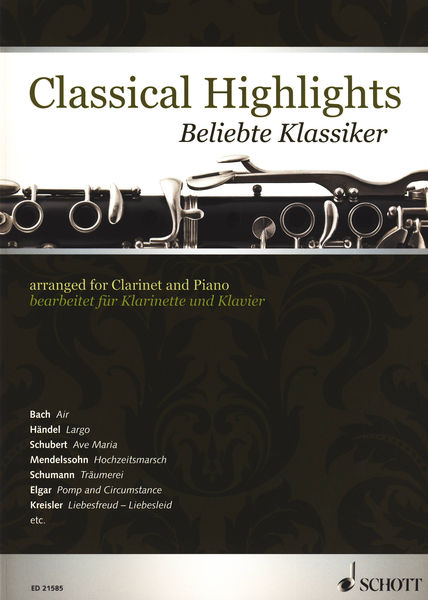 Schott Classical Highlights Clarinet