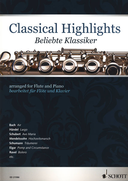 Schott Classical Highlights Flute