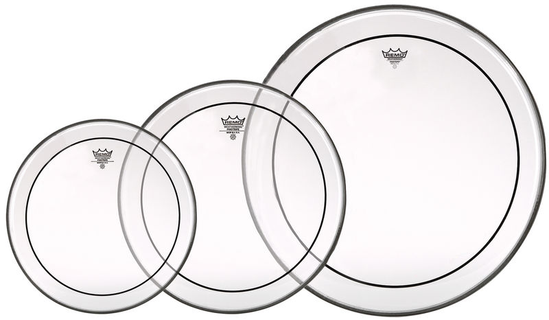Remo PP-0922-PS Pinstripe Clear