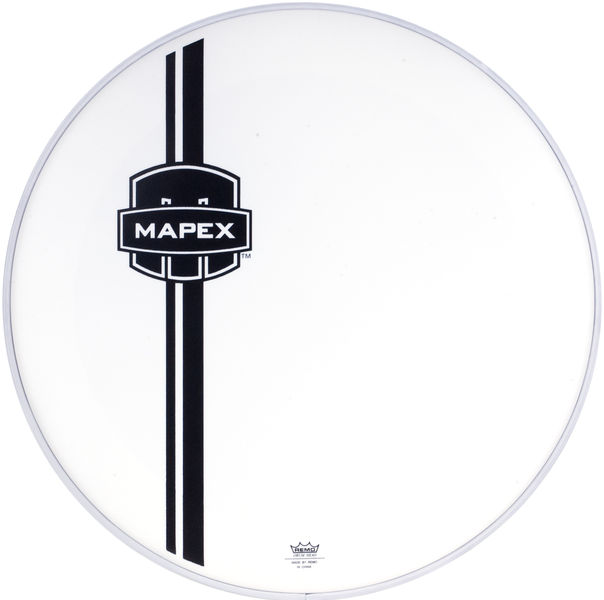 "Mapex 20"" BD Front Head White UC"