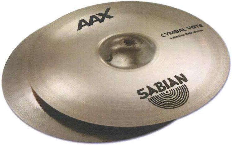 """Sabian 14"""" AAX X-Plosion Hi-Hat"""