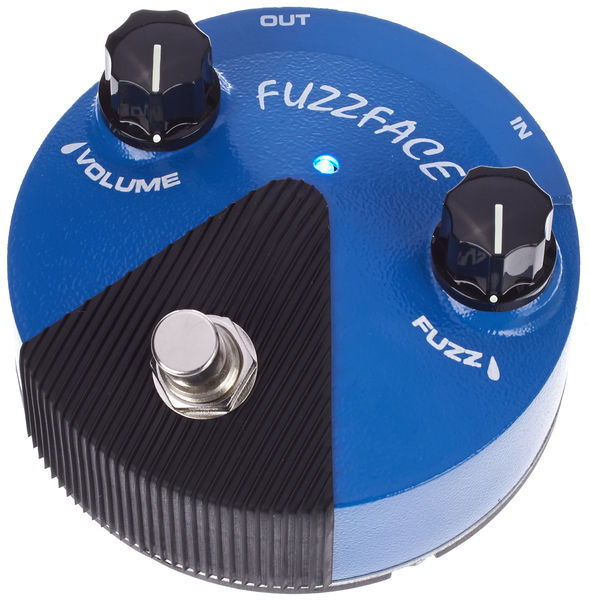Dunlop Silicon Fuzz Face Mini Blue