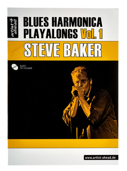 Artist Ahead Musikverlag Blues Harmonica Playalongs 1