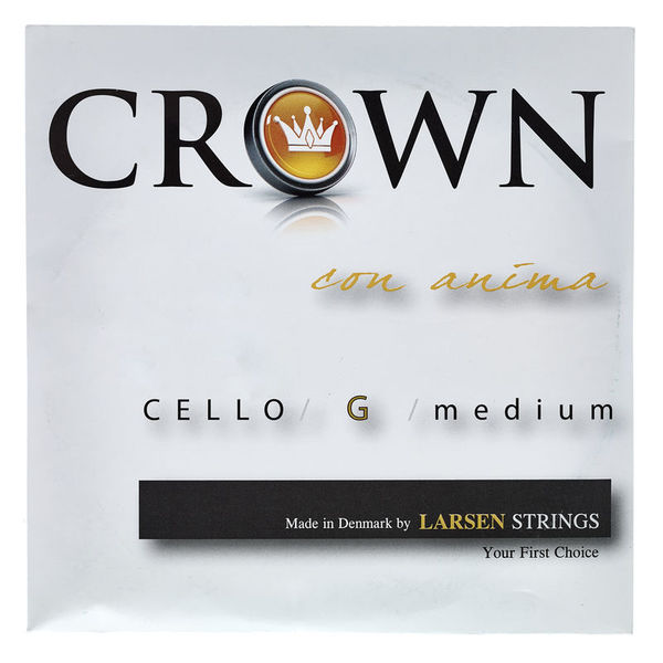 Crown By Larsen Cello String G Medium 4/4