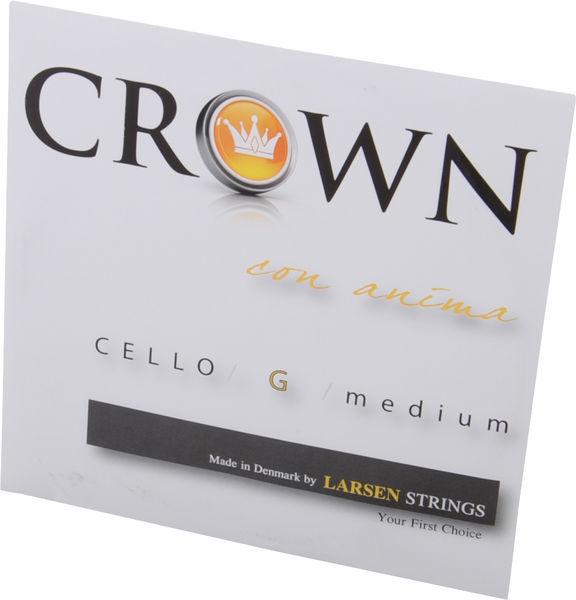 Crown By Larsen Cello String G Medium 4/4