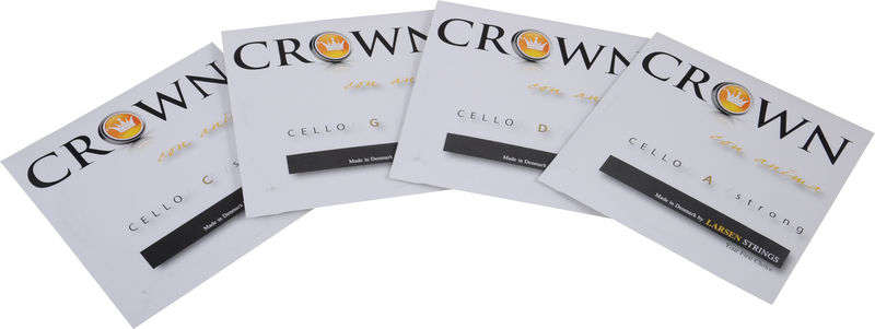 Crown By Larsen Cello Strings Set Forte 4/4