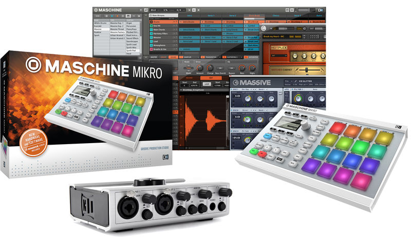 Native Instruments Maschine Mikro WH Komplete 6
