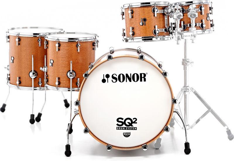 Sonor SQ2 Shell Set Birch Silky Oak