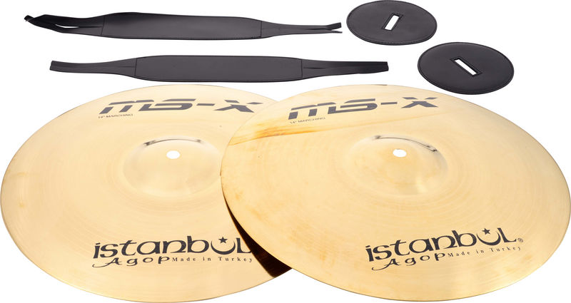 "Istanbul Agop Orchestral Band 14"" MS-X"
