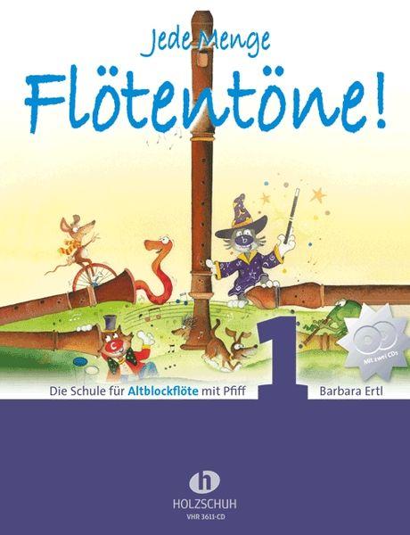 Holzschuh Verlag Flötentöne Vol.1 Alto +CD