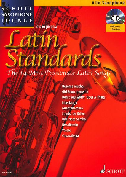 Latin Standards A-Sax Schott