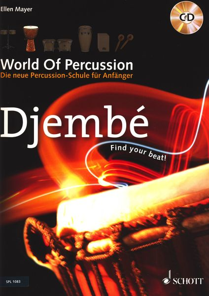 Schott World Of Percussion Djembe