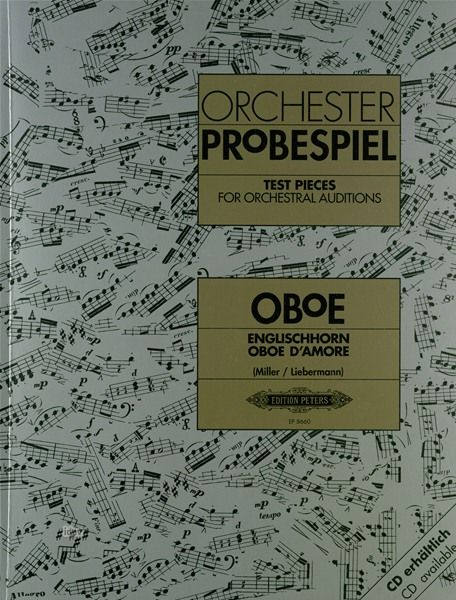 C.F. Peters Orchester Probespiel Oboe
