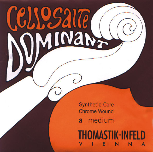 Thomastik Dominant G Cello 4/4 Silver L