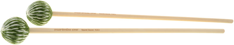 Marimba One RSR 3 Round Sound Mallets
