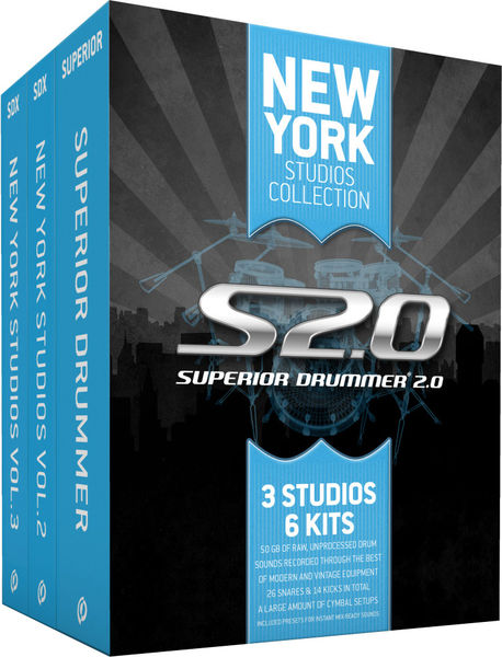 Toontrack New York Studios Collection