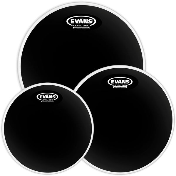 Evans Black Chrome Set Studio