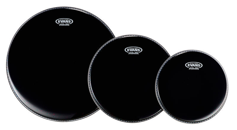Evans Black Chrome Set Fusion 2