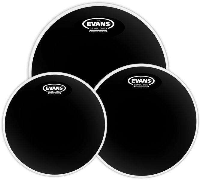 Evans Black Chrome Set Standard